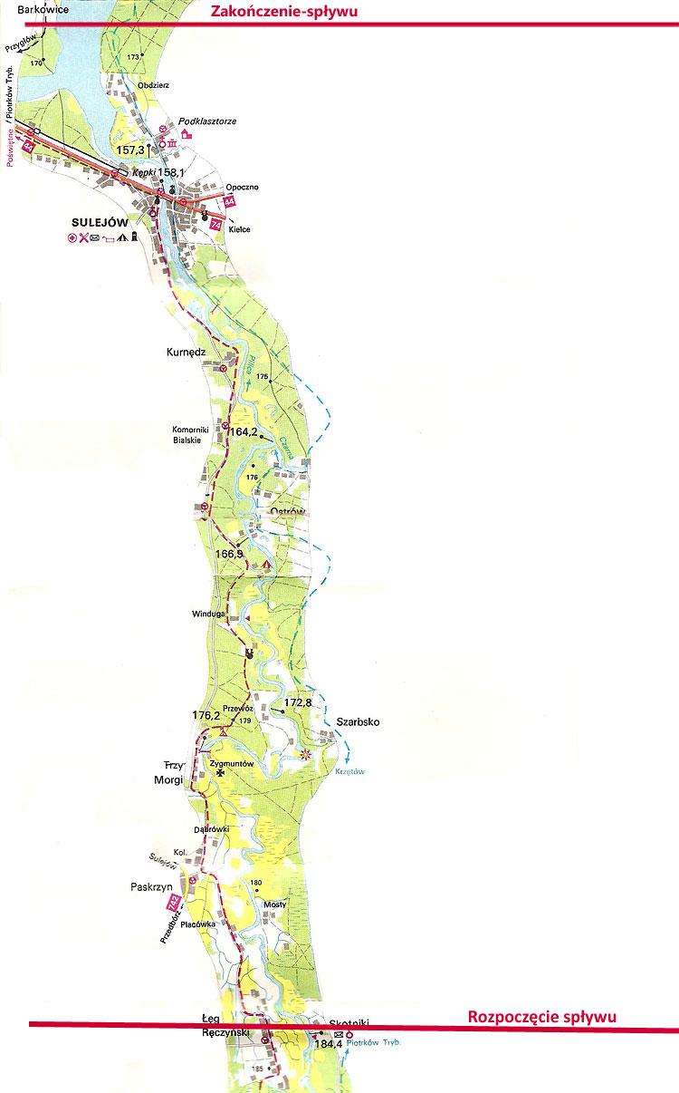 Trasa T-długa-rzeka Pilica